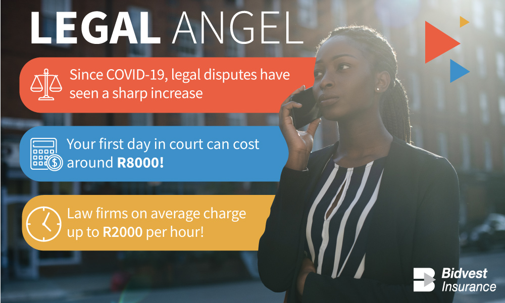 How you can significantly reduce your legal expenses with Bidvest Insurance's Legal Angel cover